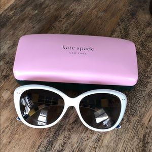 KATE SPADE 'Angelique' Sunglasses! Exc cond!